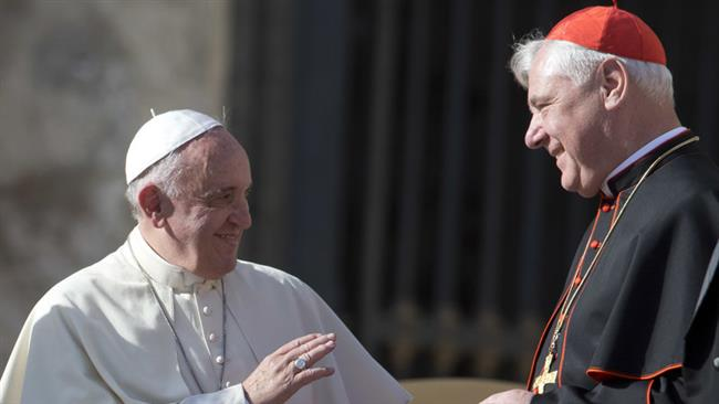 Pope Francis replaces top conservative Cardinal Gerhard Ludwig Mueller with Archbishop Luis Francisco Ladaria Ferrer