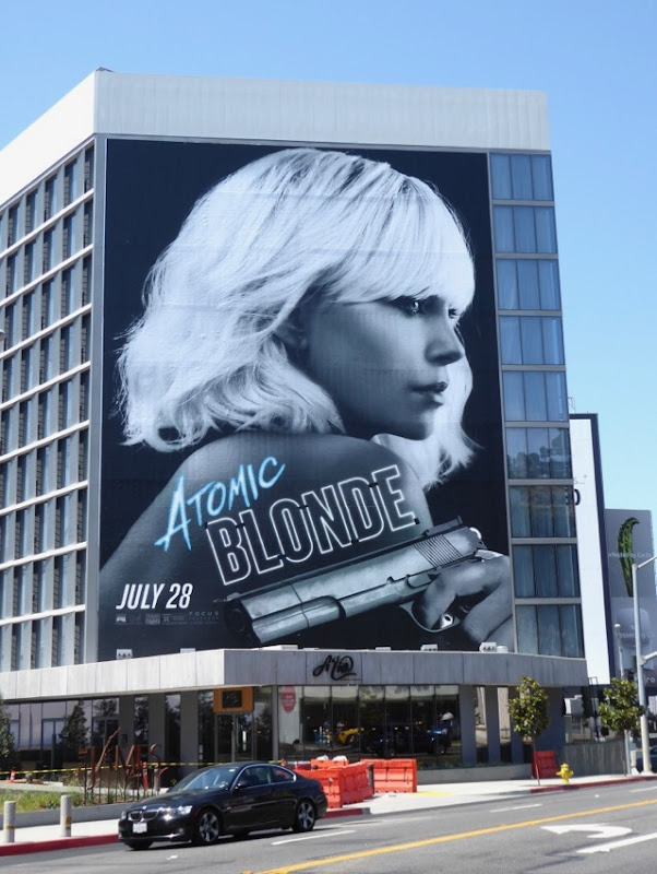 Atomic Blonde movie billboard
