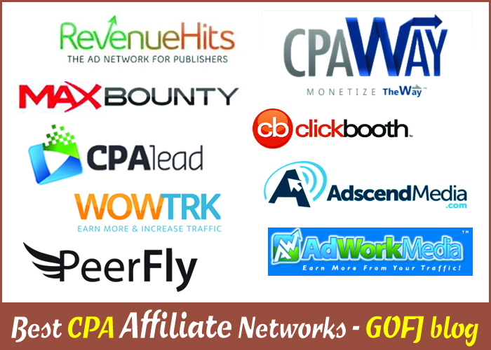 Top 20 CPA Ad Networks list 2017
