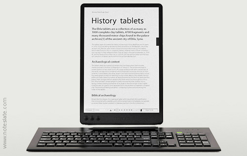 Noteslate eInk tablet device2