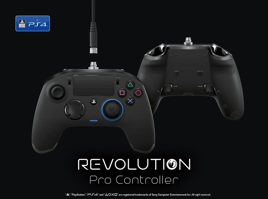 Xbox One Usb Wiring Diagram Nacon Playstation 4 Pro Controller Arrives This December