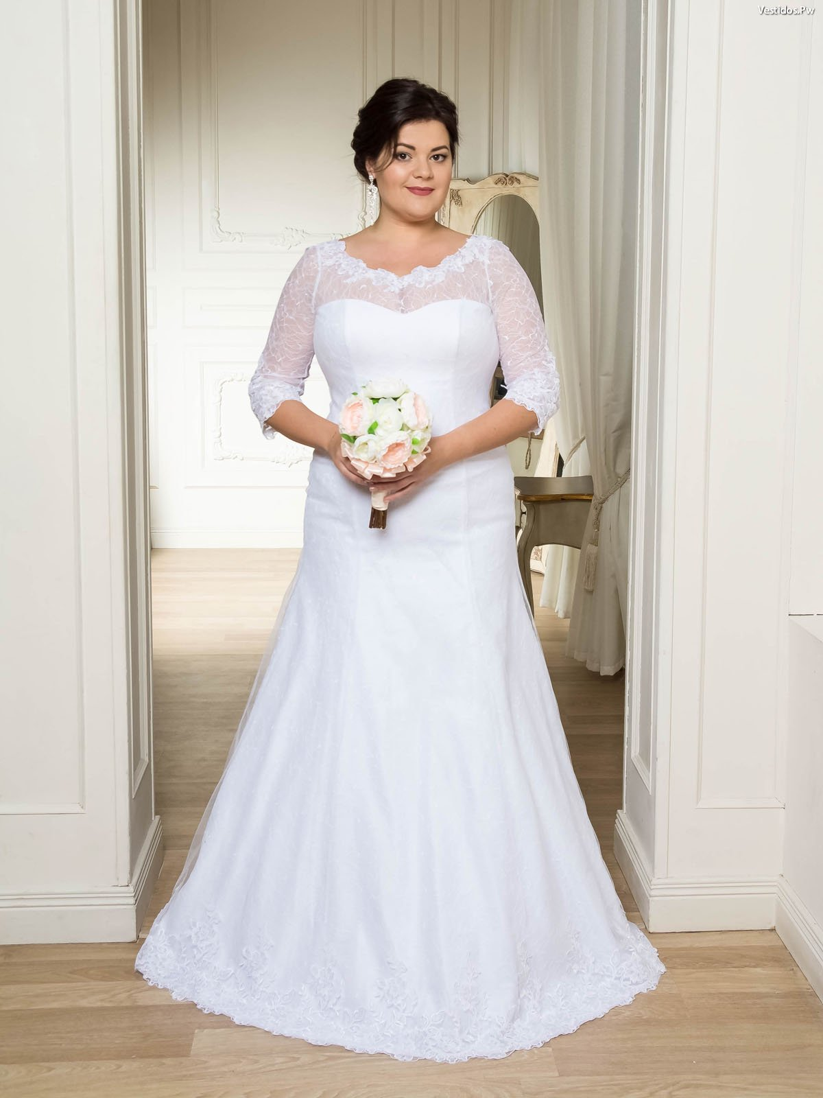 Catalogos de vestidos de novia para gorditas