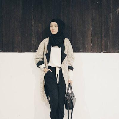 Style Baju Hijab Simple Puteri Hasanah Karunia