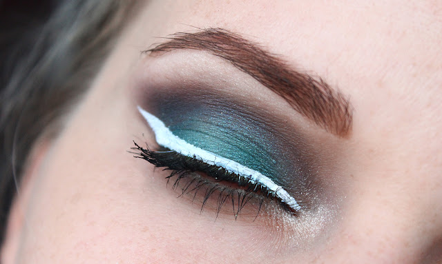makeup inspiration, unusual, interesting make up look, eye make up, nyx eyeliner