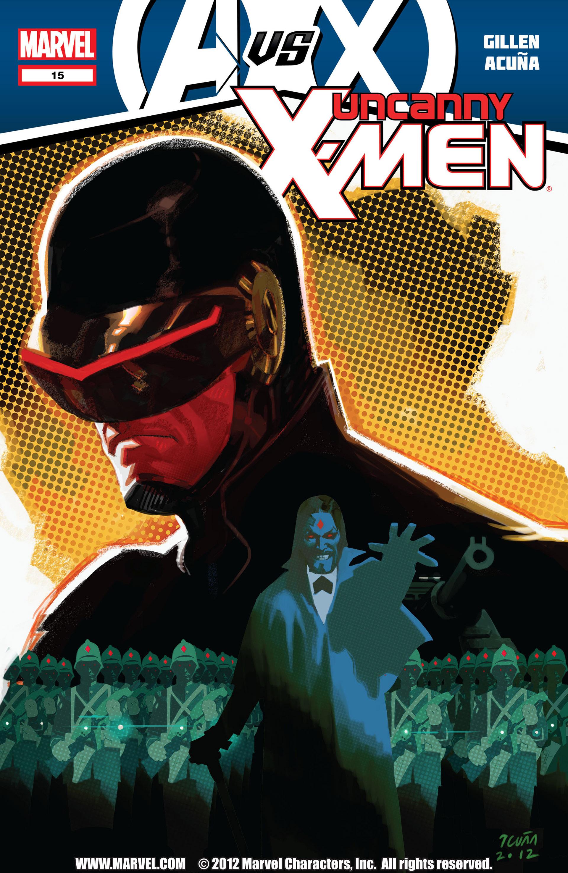 Uncanny X-Men (2012) 15 Page 1