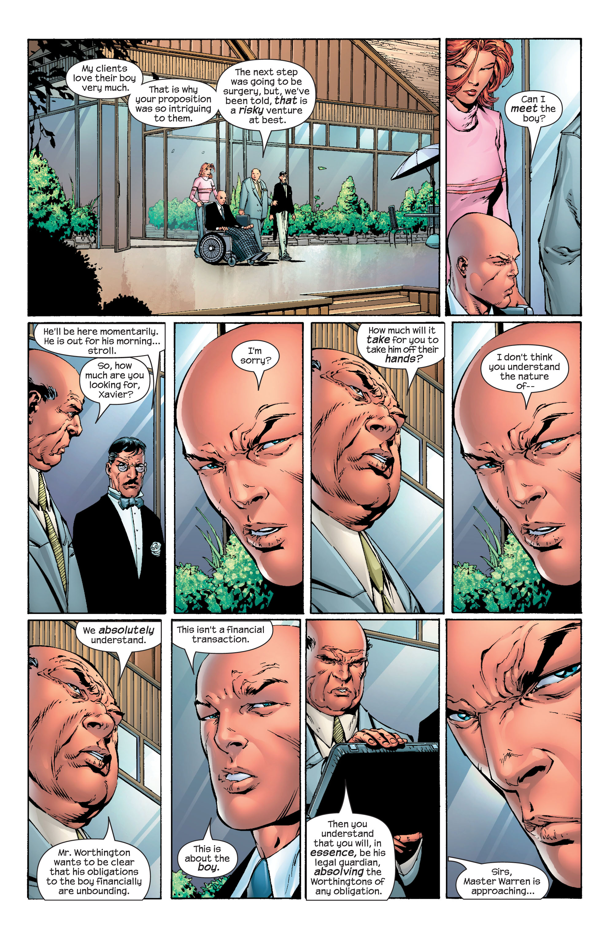 Read online Ultimate X-Men comic -  Issue #40 - 3