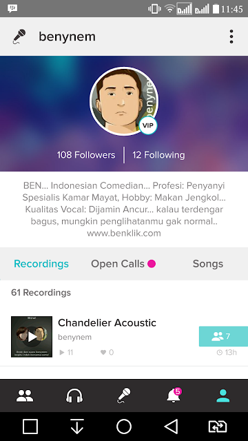 The Difference of Sing! Karaoke by Smule Apps on Android and