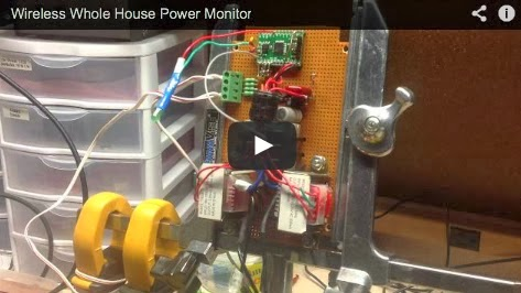 Hooked on Arduino & Raspberry Pi: Whole House Power Monitor - Part 3