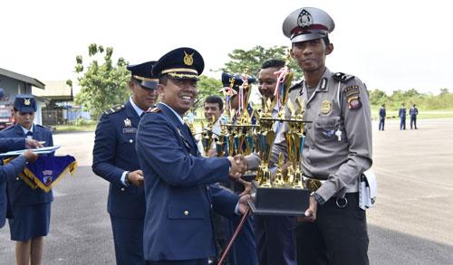 Sumber Foto :  Kepala Penerangan (Kapen) Lanud Supadio,