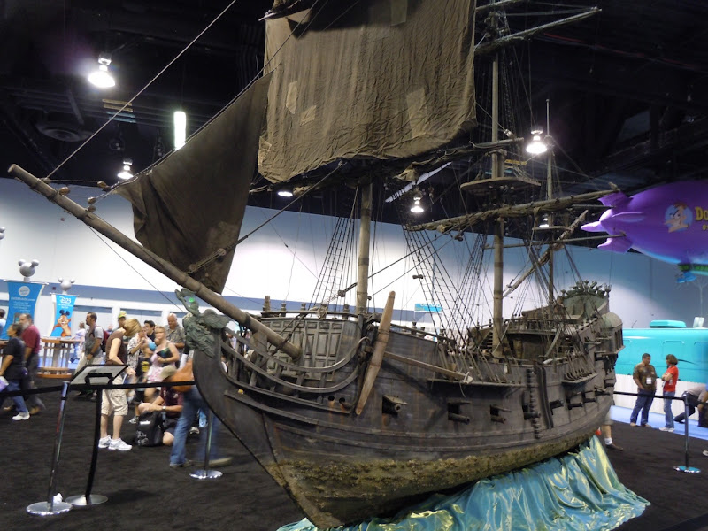 Black Pearl miniature Pirates of the Caribbean