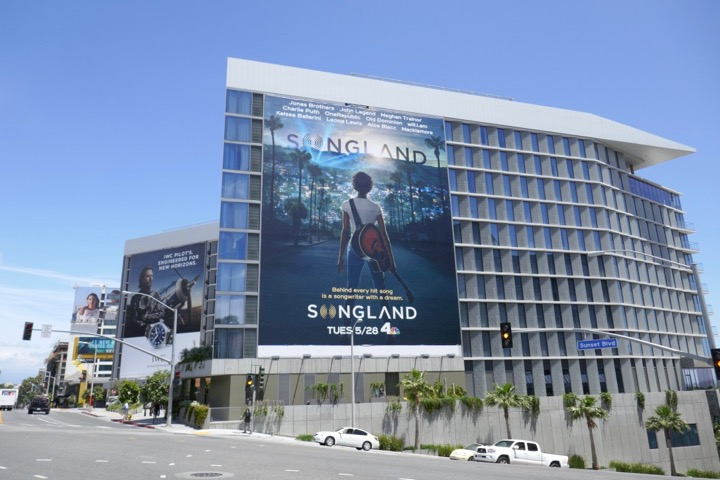 Giant Songland series launch billboard