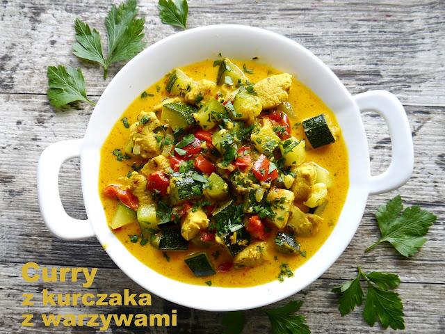 Curry z kurczaka z warzywami na ostro - Czytaj więcej »