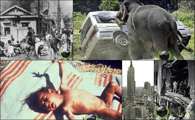 10 Kejadian Bencana Teraneh yang pernah terjadi di Dunia