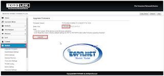 شرح ,طريقة, تحديث ,ضبط ,اعدادات, اكسز, totolink, n100re-V3
