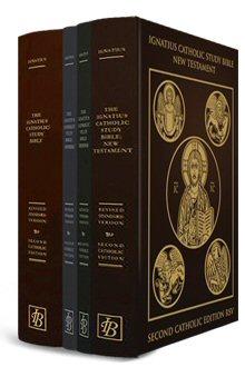 Ignatius Catholic Bible: Revised Standard Version, Burgundy, Zipper Duradera
