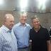 Ex-presidente Fernando Collor visita Sergipe ao lado de Gilton e Sukita