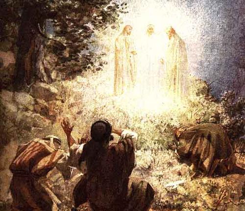 Resultado de imagem para transfiguração de jesus