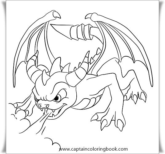 skylander giants coloring pages - Free Large Images | 498x536