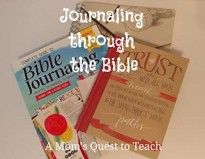Bible, Sketchbook, and Bible Journaling book