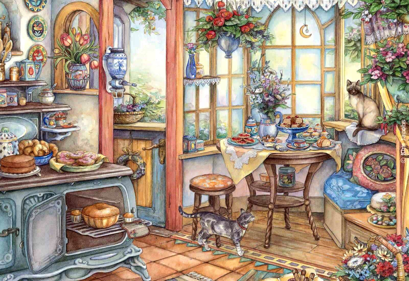 country kitchen sweet art 1000 images about cobblestone way on 6149