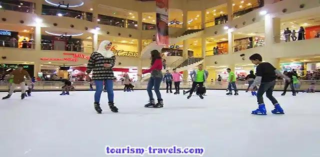 أماكن التزحلق علي الجليد في القاهرة