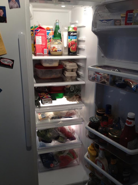 groceries, fridge