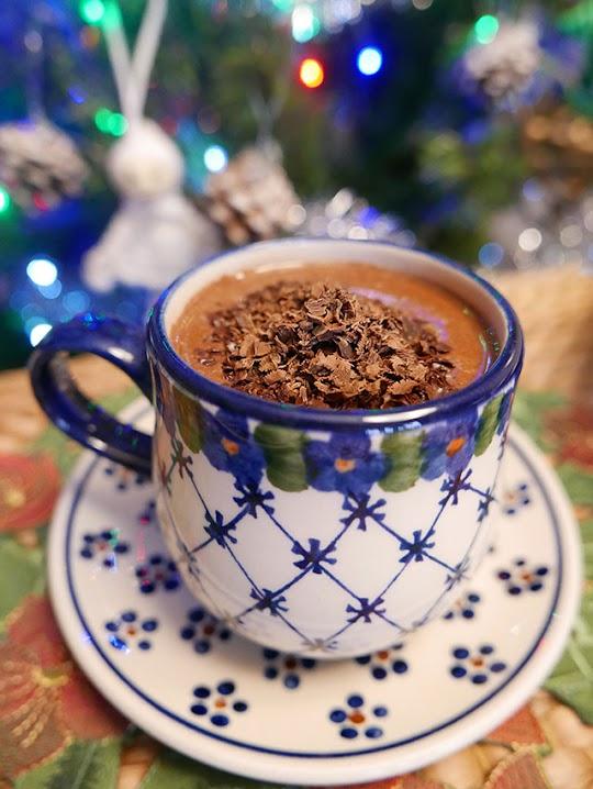 Piernikowa czekolada na gorąco