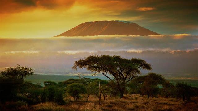 Mount Kilimanjaro Sunrise, Tanzania