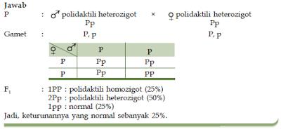 Macam-Macam Penyakit Turunan dan Kelainan Genetik Dalam Proses Hereditas atau Pewarisan Sifat