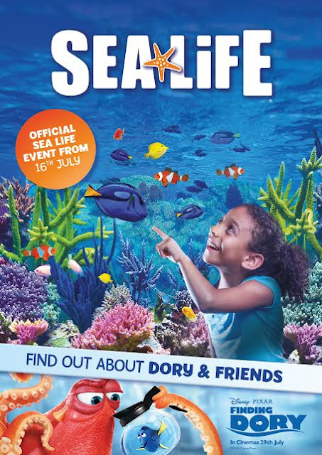 Finding Dory and Nemo event at SEA LIFE Blackpool