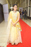 Nivetha Thamos in bright yellow dress at Ninnu Kori pre release function ~  Exclusive (23).JPG