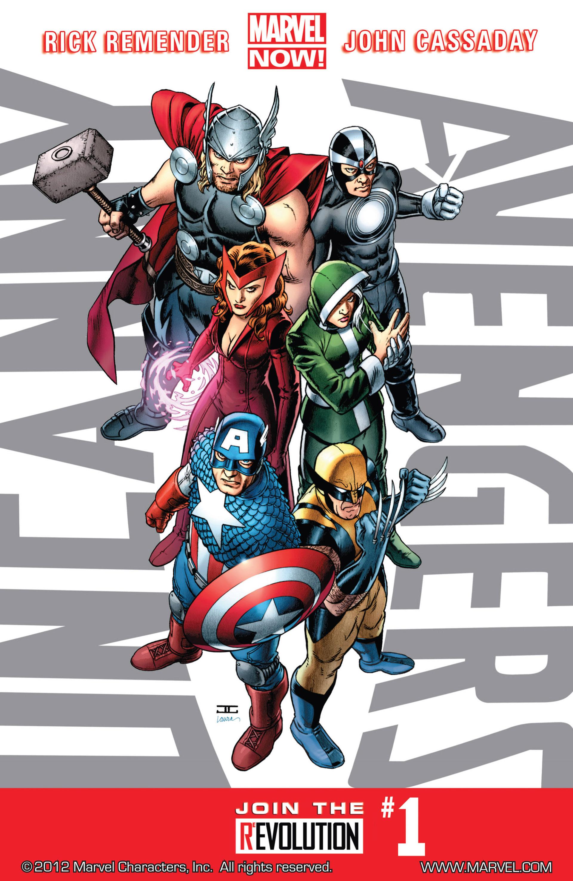 Read online Uncanny Avengers (2012) comic -  Issue #1 - 1