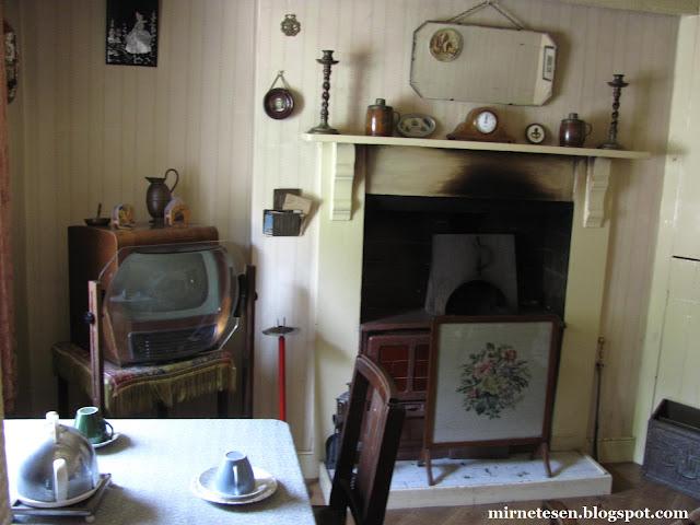 Обстановка валийского дома начала ХХ века - Сент-Фэгенс, Кардифф