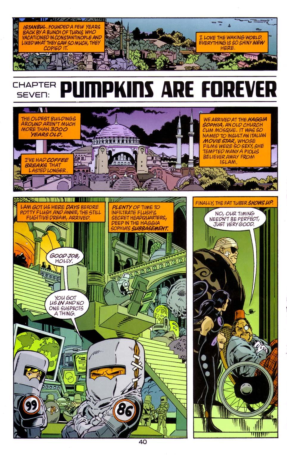 Read online Merv Pumpkinhead, Agent of D.R.E.A.M. comic -  Issue # Full - 40