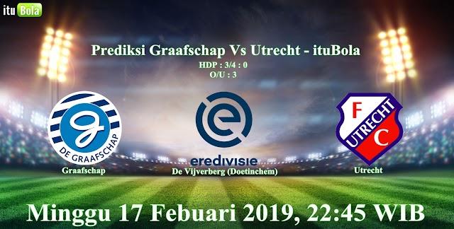 Prediksi Graafschap Vs Utrecht - ituBola