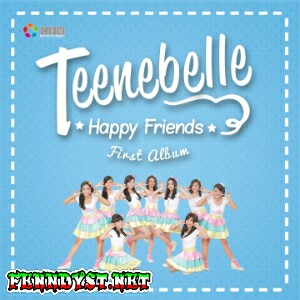 Teenebelle - Happy Friends - EP (2015) Album cover