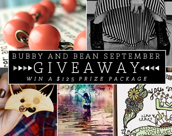 Bubby and Bean's Big September Giveaway!
