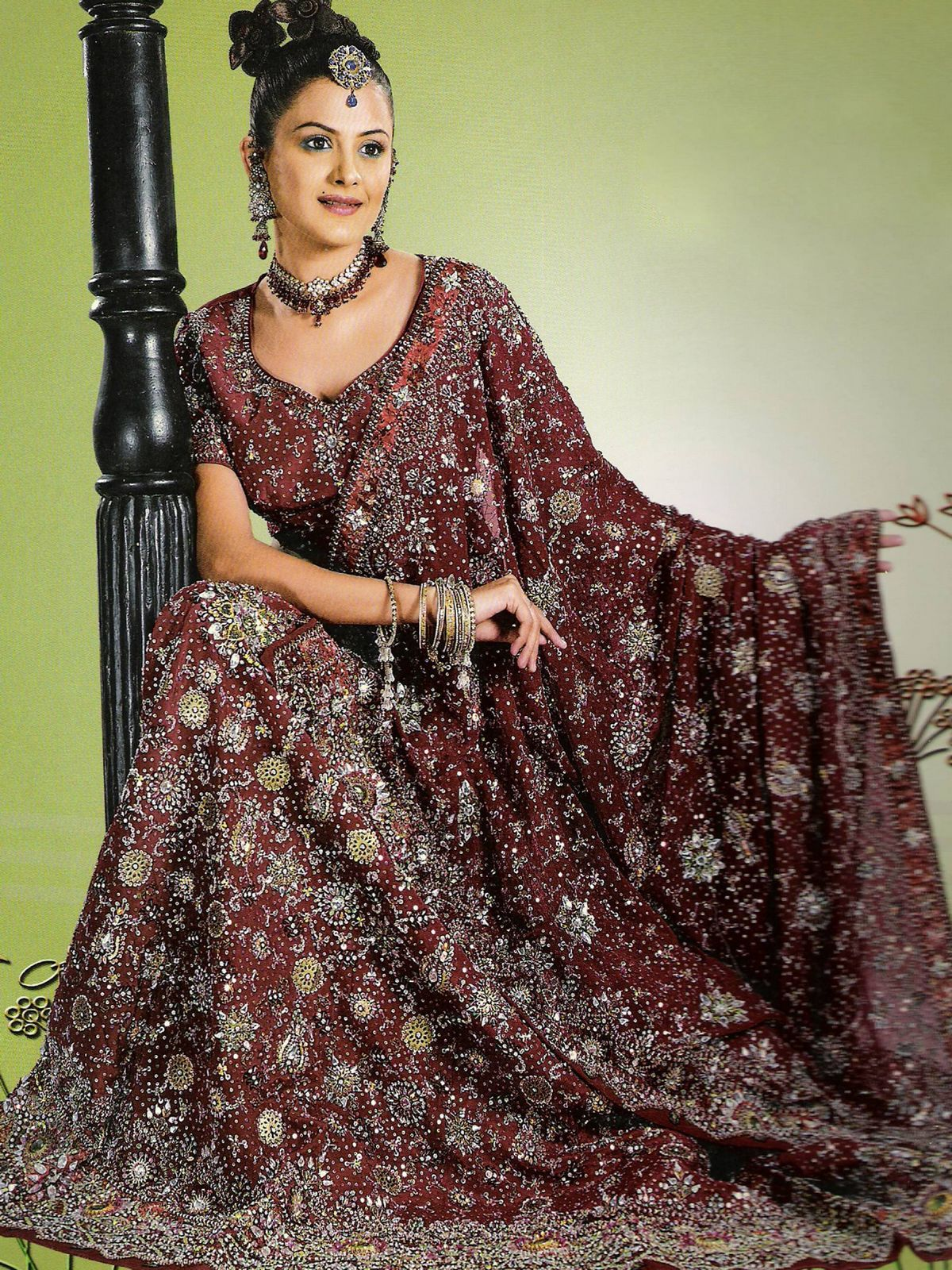 Fashion Style: Indian Wedding Outfits Lengha Images