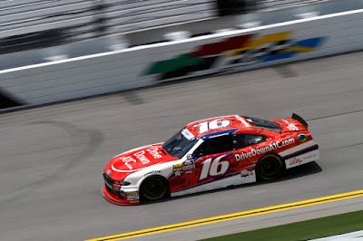 Reed Collected Three Laps Shy of the Checkered Flag at Daytona
