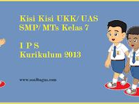 Kisi Kisi UKK IPS Kelas 7 Kurikulum 2013