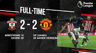 Southampton vs Manchester United 2-2 Video Gol & Highlights