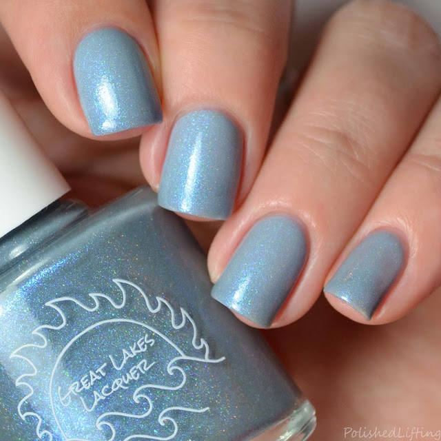 gray thermal nail polish