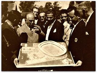 Getúlio Vargas, Jango e Maquete do Olímpico (1952)