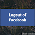 How to Logout of my Facebook Account