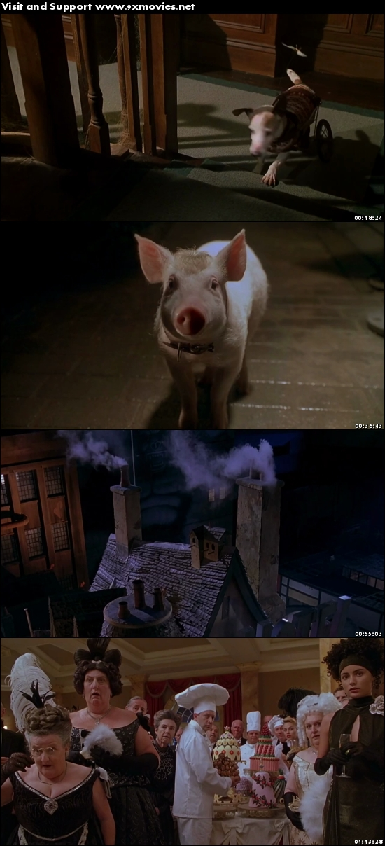 Babe Pig In The City 1998 Dual Audio Hindi 720p BluRay