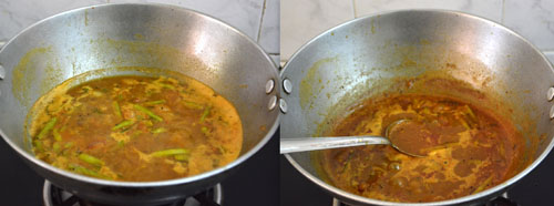 Cluster Beans Puli Kuzhambu Recipe