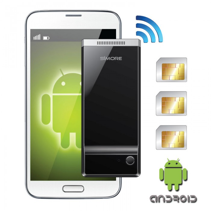 Triple SIM adapter for Android Device | G&J Demo Store