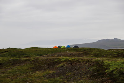 Many Icelandic campsites have zones for wild camping