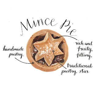 Alice Draws The Line Mince Pie Illo_Advent