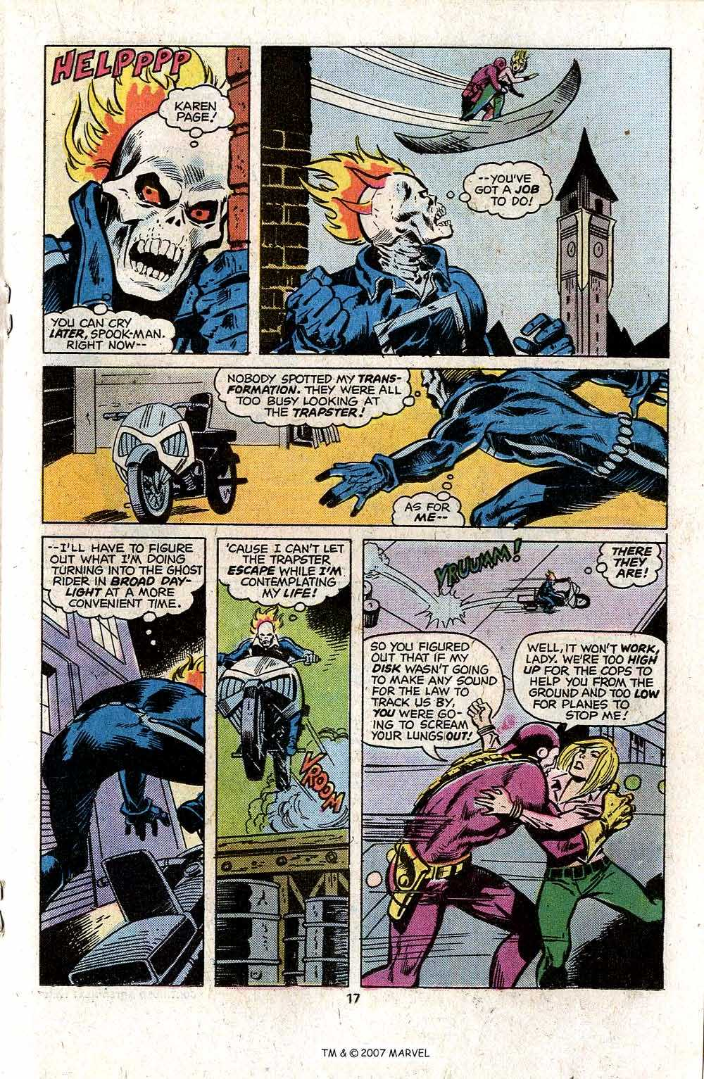 Ghost Rider (1973) Issue #13 #13 - English 19